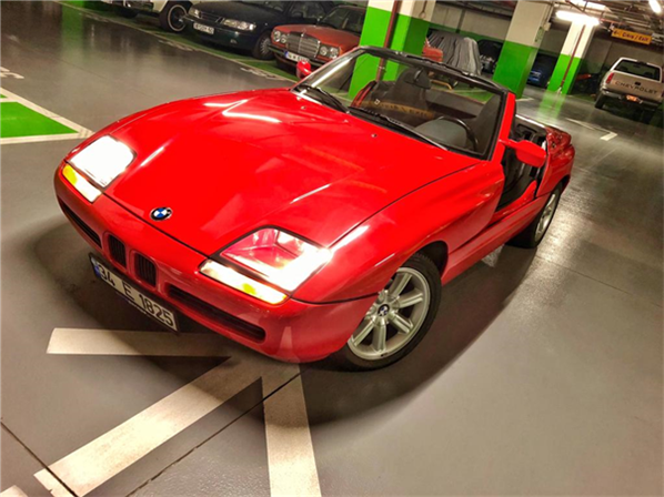 1987 model, BMW Z1<br/>2500 cm³ - 128.000 km