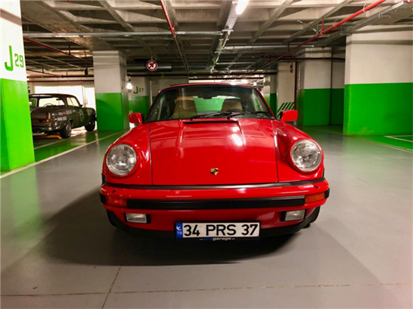 1986 model, Porsche 911 Turbo<br/>3001-3500 cm³ - 163.000 km