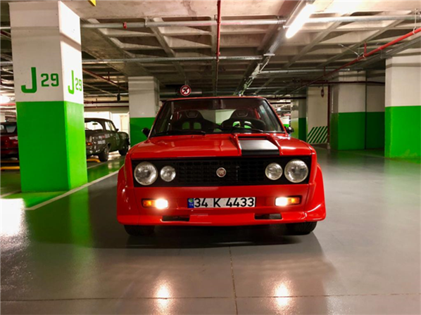 1977 model, Fiat 131 Abarth<br/>2000 cm³ - 20.000 km