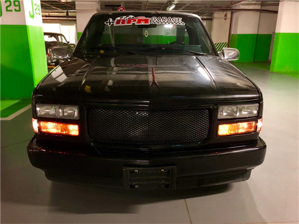 1990 model, Chevrolet Silverado<br/>4001-5000 cm³ - 95.200 km